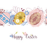 Easter pattern Royalty Free Stock Images