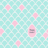 Easter pattern with greetings. Vector seamless pattern for Easter with greetings Royalty Free Stock Image