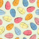 Easter pattern seamless Royalty Free Stock Photos