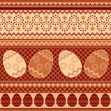 Easter pattern seamless Royalty Free Stock Photography