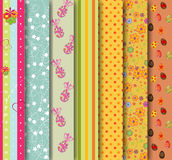 Easter patterns Royalty Free Stock Image