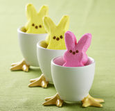 Easter Peeps Stock Photo