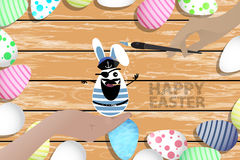 Easter is a perfect illustration for your design Royalty Free Stock Photo