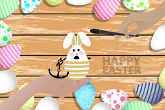 Easter is a perfect illustration for your design Royalty Free Stock Photos