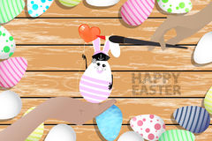 Easter is a perfect illustration for your design Royalty Free Stock Images