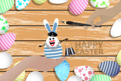 Easter is a perfect illustration for your design Stock Images