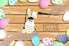 Easter is a perfect illustration for your design Stock Image