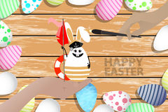 Easter is a perfect illustration for your design Stock Photos
