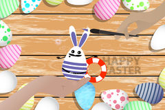 Easter is a perfect illustration for your design Royalty Free Stock Photography
