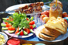 Easter picnic. Stock Images