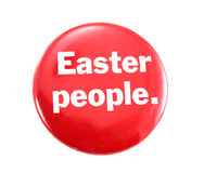 Easter Pin Royalty Free Stock Images