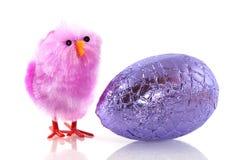 easter pisklęcy jajko obraz stock