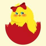 easter pisklęcy jajko royalty ilustracja