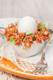 Easter place setting Royalty Free Stock Photography