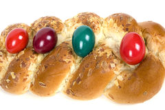 Easter Plaited Danish Pastry Royalty Free Stock Photo