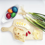Easter Plate Stock Image
