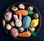 Easter plate Royalty Free Stock Photography