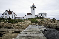Easter Point Lighthouse - Gloucester, MA Royalty Free Stock Photos