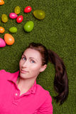 Easter portrait Stock Photography