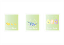 Easter postage set Stock Image