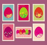 Easter postage stamps Royalty Free Stock Image