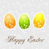 Easter postcard Stock Image