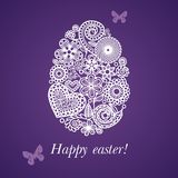 Easter Postcard Royalty Free Stock Photo
