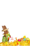 Easter postcard Royalty Free Stock Images