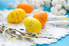 Easter postcard Stock Image