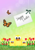 Easter postcard Royalty Free Stock Photography