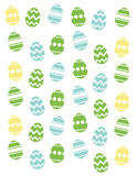 Easter poster Stock Image