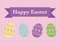 Easter poster Royalty Free Stock Photo