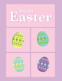 Easter poster Royalty Free Stock Images