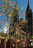 Easter in Prague. royalty free stock photography