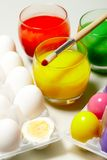 Easter preparations Royalty Free Stock Photo