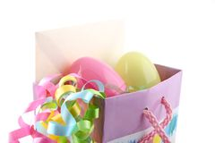 Easter present Royalty Free Stock Image