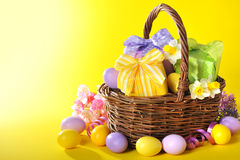 Easter presents Stock Photography
