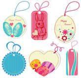 Easter price tags Royalty Free Stock Photo