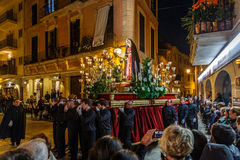 Easter procession in Alcudia Stock Photos