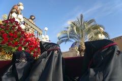 Easter procession in Elche, Alicante, Valencia. Spain Stock Photo