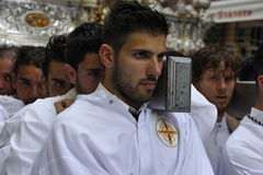 Easter Procession in Malaga, Spain Royalty Free Stock Photography