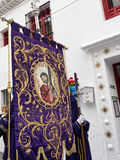 Easter Procession in Mijas Spain Royalty Free Stock Image