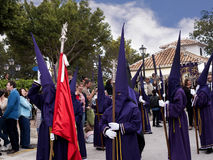 Easter Procession in Mijas Spain Stock Photos