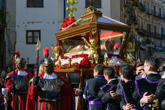 Easter procession royalty free stock photography