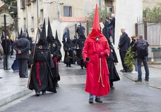Easter procession in Perpignan Royalty Free Stock Images