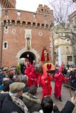 Easter procession in Perpignan Royalty Free Stock Photos