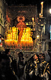 Easter processions in Granada Royalty Free Stock Photos