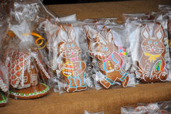 Easter rabbit. Traditional the easter rabbit symbol Royalty Free Stock Photography
