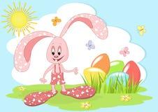 Easter rabbit. Stock Photos