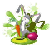 Easter rabbit Stock Photos
